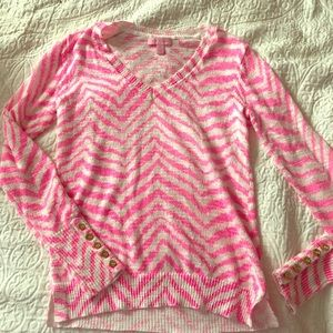 Lilly Pulitzer V-neck sweater